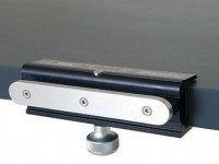 Clamp-on accessory rail