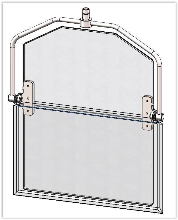 Compass Frame Drape X610-0209
